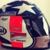 Nuova grafica per il casco di Nicky Hayden